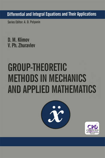 Group-Theoretic Methods in Mechanics and Applied Mathematics book cover