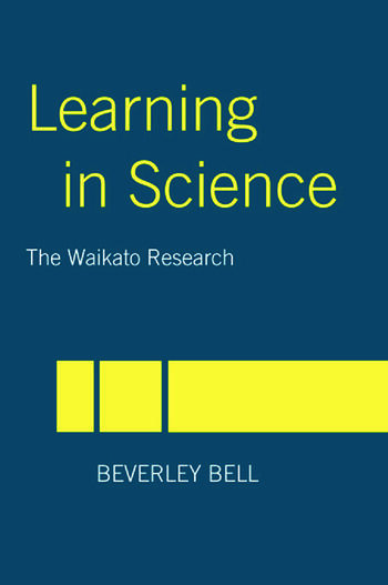 Learning in Science The Waikato Research book cover