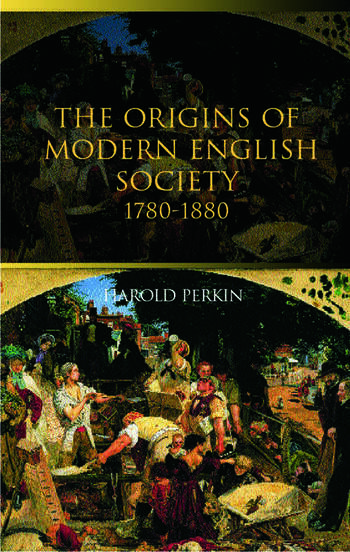 The Origins of Modern English Society book cover