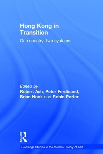 Hong Kong in Transition One Country, Two Systems book cover