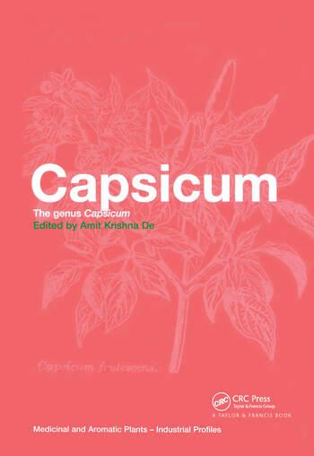 Capsicum The genus Capsicum book cover