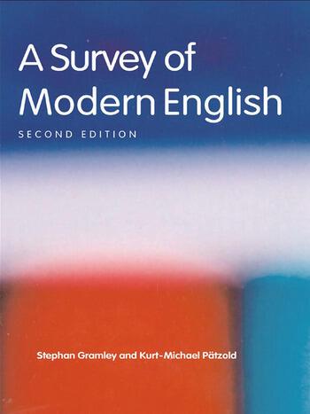 A Survey of Modern English book cover