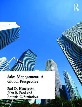 Sales Management A Global Perspective book cover