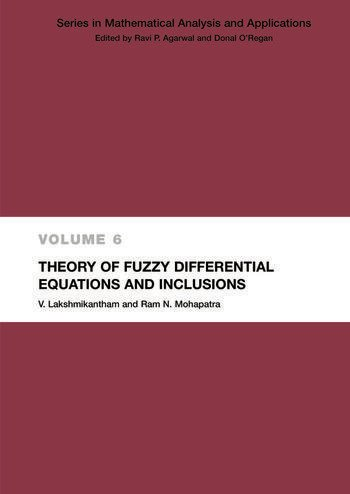 Theory of Fuzzy Differential Equations and Inclusions book cover