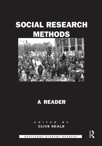 Social Research Methods A Reader book cover