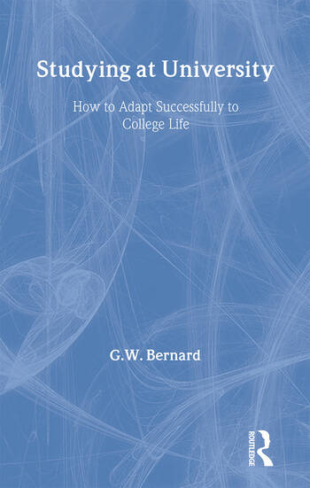 Studying at University How to Adapt Successfully to College Life book cover