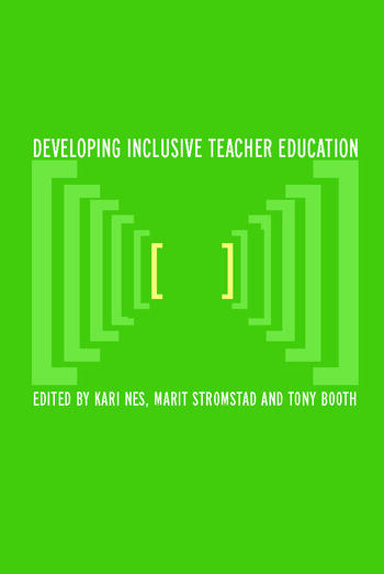 Developing Inclusive Teacher Education book cover