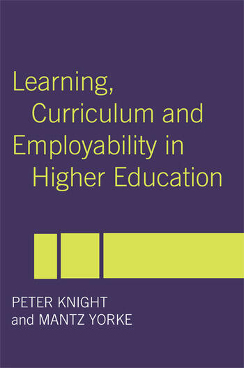 Learning, Curriculum and Employability in Higher Education book cover