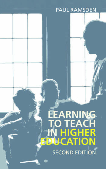 Learning to Teach in Higher Education book cover