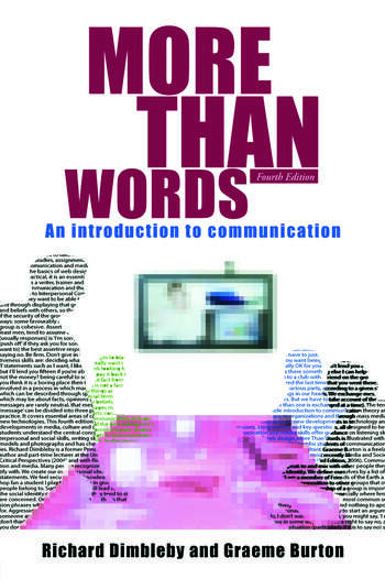 More Than Words An Introduction to Communication book cover