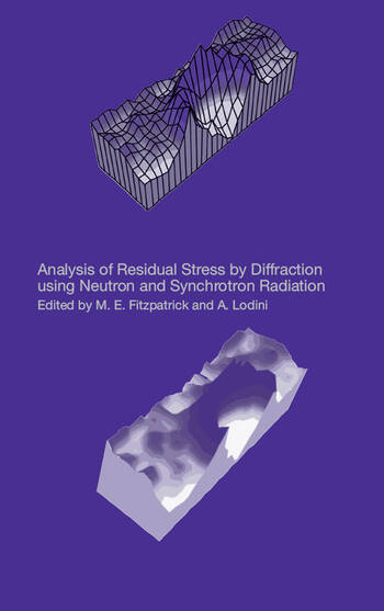 Analysis of Residual Stress by Diffraction using Neutron and Synchrotron Radiation book cover