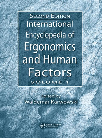 International Encyclopedia of Ergonomics and Human Factors - 3 Volume Set book cover