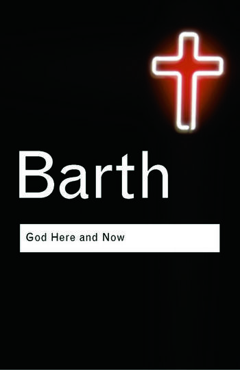 God Here and Now book cover