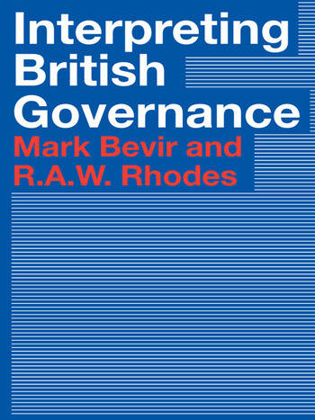 Interpreting British Governance book cover