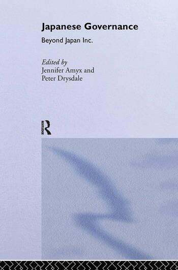 Japanese Governance Beyond Japan Inc. book cover