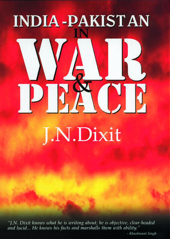 India-Pakistan in War and Peace book cover