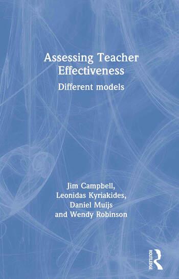 Assessing Teacher Effectiveness Different Models Book Cover
