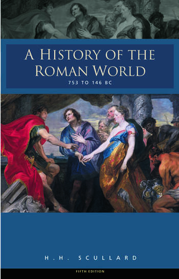A History of the Roman World 753-146 BC book cover