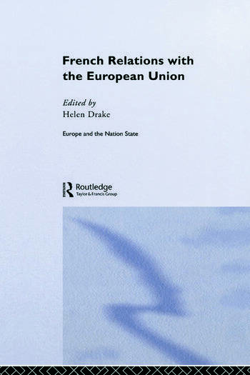 French Relations with the European Union book cover