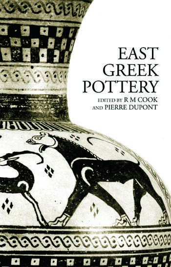 East Greek Pottery book cover