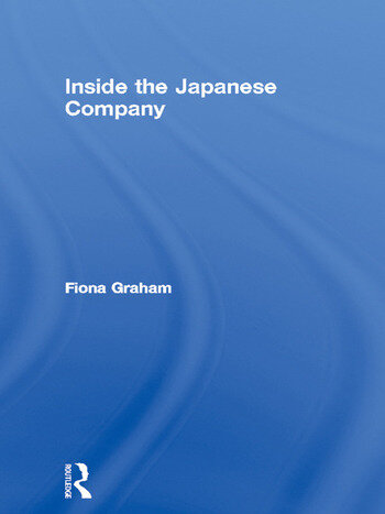 Inside the Japanese Company book cover