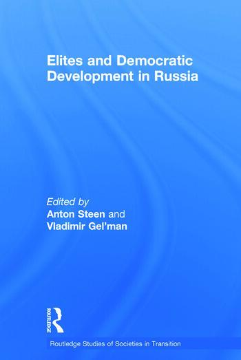 Elites and Democratic Development in Russia book cover