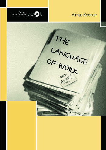 The Language of Work book cover