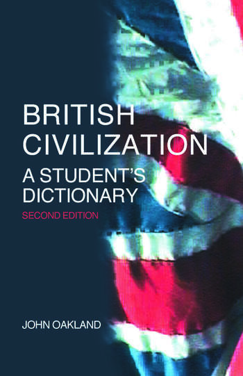 British Civilization A Student's Dictionary book cover