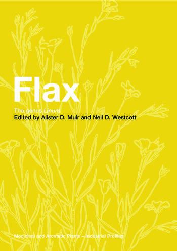Flax The genus Linum book cover