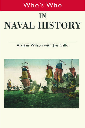Who's Who in Naval History From 1550 to the present book cover