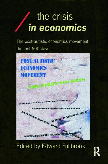 The Crisis in Economics book cover