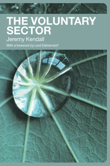 The Voluntary Sector Comparative Perspectives in the UK book cover