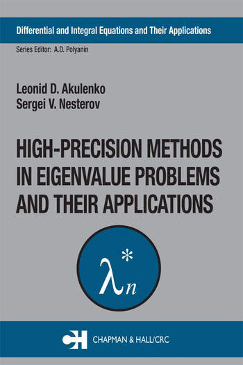High-Precision Methods in Eigenvalue Problems and Their Applications book cover