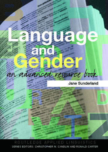Language and Gender An Advanced Resource Book book cover