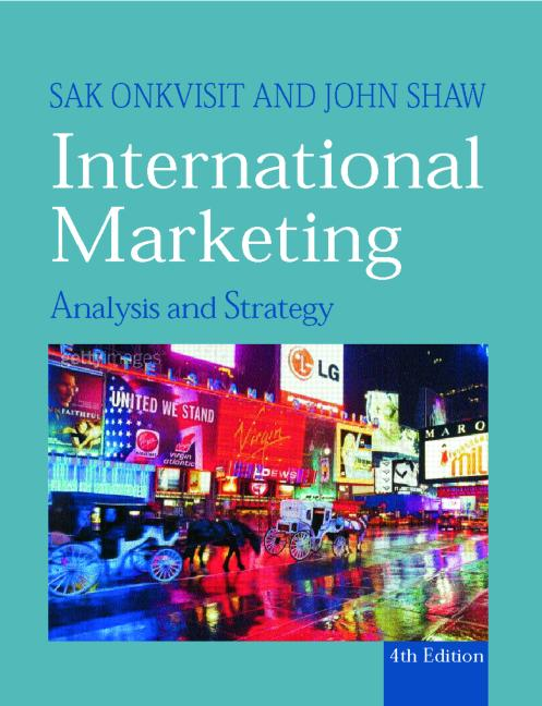 International Marketing Strategy and Theory book cover