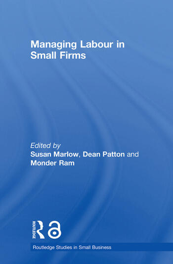 Managing Labour in Small Firms book cover