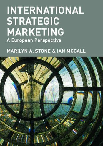 International Strategic Marketing A European Perspective book cover