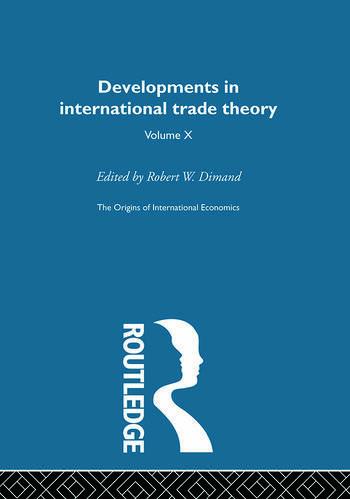 Origins Intl Economics Vol 10 book cover
