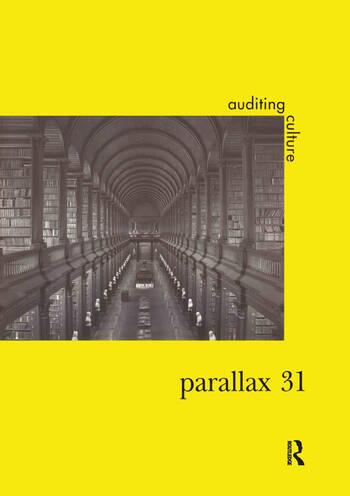Parallax 31 Vol10 No2 Auditing book cover