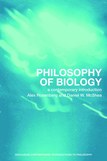 Philosophy of Biology A Contemporary Introduction book cover