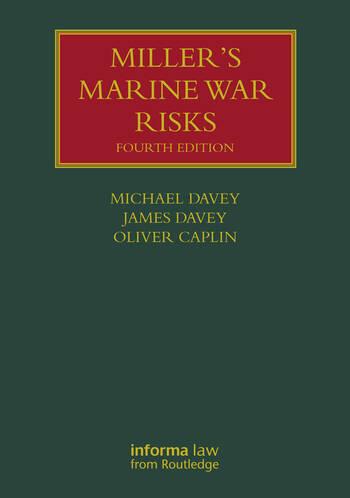 Miller's Marine War Risks book cover