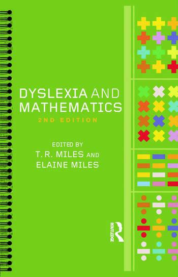 Dyslexia and Mathematics book cover