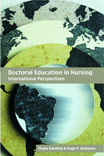 Doctoral Education in Nursing International Perspectives book cover