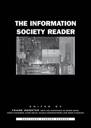 The Information Society Reader book cover