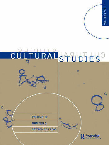 Cultural Studies Volume 17 Issue 5 book cover
