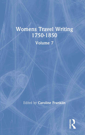 Womens Travel Writing 1750-185 book cover