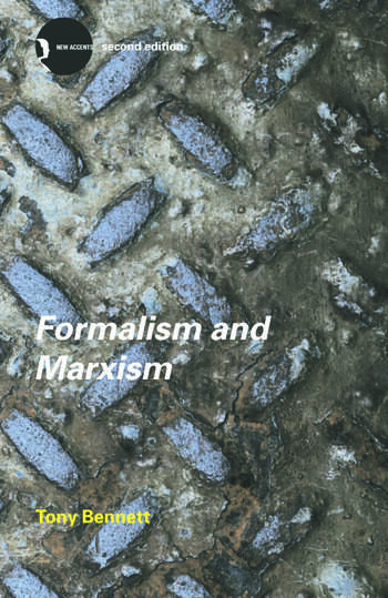 Formalism and Marxism book cover