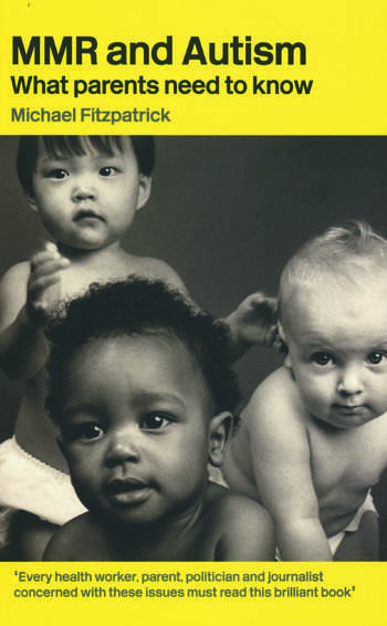 MMR and Autism What Parents Need to Know book cover