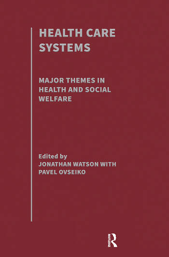 Health Care Systems book cover