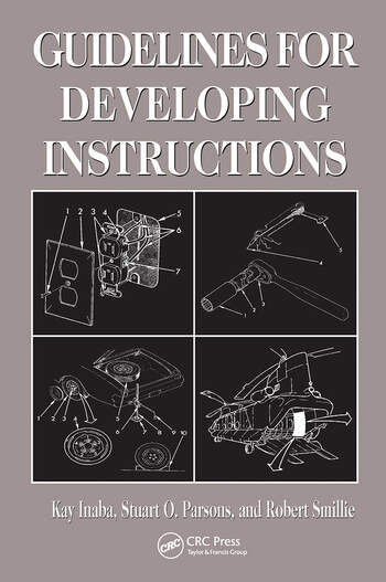 Guidelines for Developing Instructions book cover